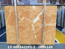 Orange Onyx Tile And Slab Marble Style Tiles For Luxury Building Interior Decoration